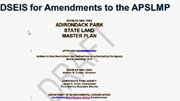 cover slide for 2016 Jan 7 presentation of the new draft plan see date Nov 1987